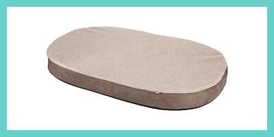 coussin matelas ovale pour chien