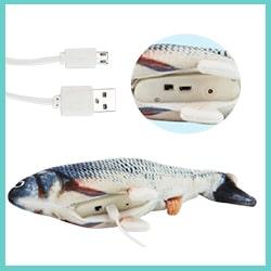 jouet poisson pour chat-jouet poisson qui bouge recharge usb 1