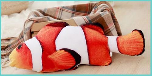 jouet poisson pour chat_poisson clown