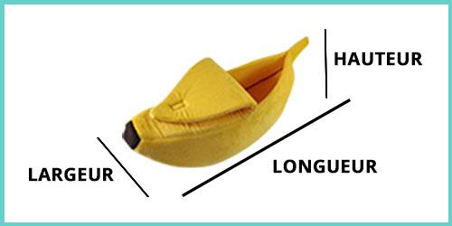 dimensions panier banane chat - dimensions lit banane chat