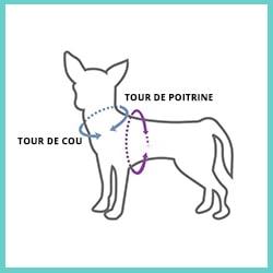 harnais anti-traction pour chien - harnais pour chien qui tire - caractéristiques