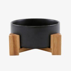 gamelle en céramique pour chat noir