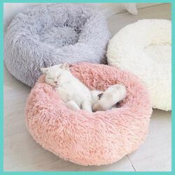coussin apaisant pour chat doux et confortable