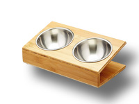 prix gamelle orthopédique pour chat avec support en bois