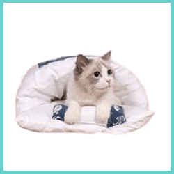sac couchage lit chat
