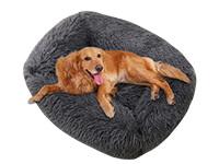 coussin apaisant pour chien rectangulaire