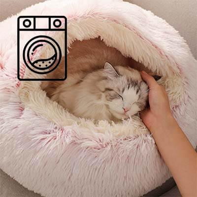 coussin pour chat lavable en machine
