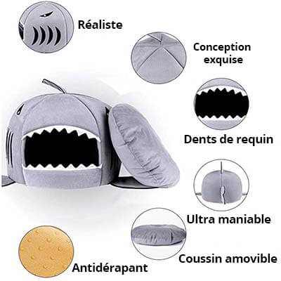 panier requin chat 2